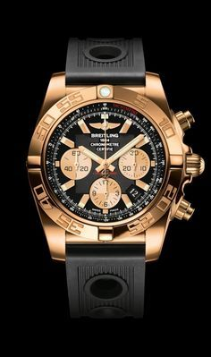 0cecb5544f4 Chronomat 44 diver s watch by Breitling - 18K rose gold case
