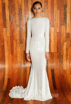 Modest Wedding Gowns for the Tznius Jewish Bride on Pinterest ...