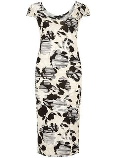 Shadow floral jersey dress - View All Dresses - Dresses
