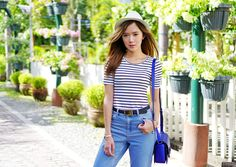 Casual Shirt + Mom Jeans OOTD At VES, Tarlac | Camille Tries To Blog