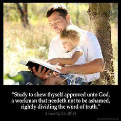 2 Timothy 2:15 KJV