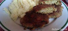 Fotorecept: Kelové fašírky pečené na plechu Mashed Potatoes, Cauliflower, Grains, Pork, Rice, Meat, Vegetables, Ethnic Recipes, Red Peppers