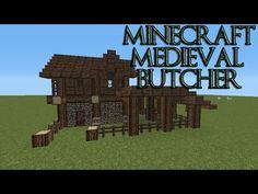 { MINECRAFT } Medieval Butcher Tutorial - YouTube