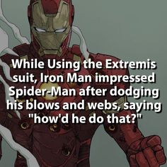 Civil War is going to be interesting  #ironman #spiderman by marvelousfacts