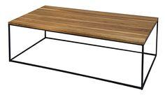 TABLE BASSE STYLE LOFT MÉTAL ET BOIS SUR MESURE