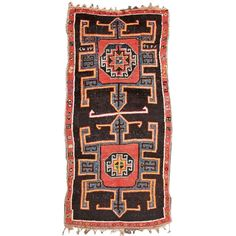 Antiques Qualified Kilim Rug Carpet Antique Oriental Tribal Berber Moroccan Morocco 1950 Cool In Summer And Warm In Winter