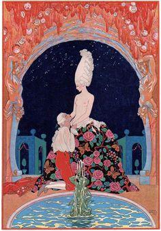 ただじっと眺めているだけで特別に甘美な世界へと迷い込んだような気分になれる  ジョルジュ・バルビエのイラスト。   1882年、フランスにある港町ナントのブルジョワ家庭に生まれたジョルジュ・バルビエ。  ギリシャの壺絵やエジプトの彫刻、シノワズリやジャポニズムにも影響を受けてい...