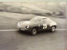 "Piero Gancia — Alfa Romeo 1300 Giulietta Sprint Zagato ""Coda Tonda"" - Scuderia Jolly Gancia — Interlagos 1965"