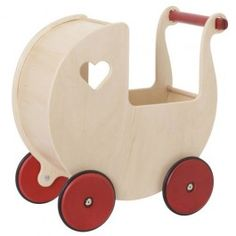 poppenwagen naturel moovertoys | ilovespeelgoed.nl