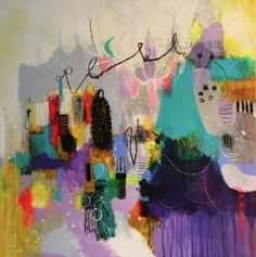 Abstract Paintings by Cynthia Brown