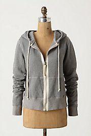 Vintage Gray Hoodie