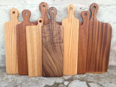 reclaimed wood cutting boards, individually shaped by Stormy Monday