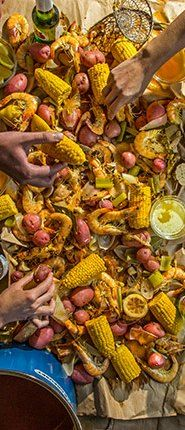 Kick off summer with a shrimp boil