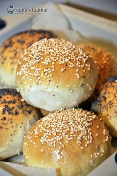 Baby Food Recipes, Bread Recipes, Doughnuts, I Foods, Delish, Food And Drink, Yummy Food, Baking, Hamburger