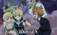 fairy tail loke and lucy - Google Search