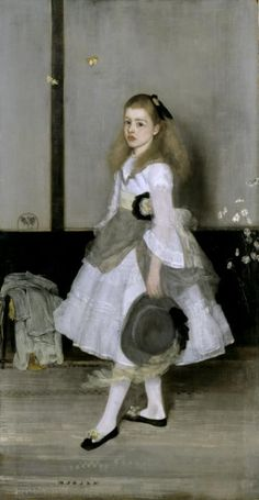 James Abbott McNeill Whistler, 'Harmony in Grey and Green: Miss Cicely Alexander' 1872–4