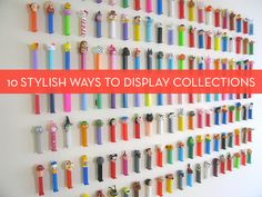 Cool Collections: 10 Creative Ways to Display Your Collectibles » Curbly | DIY Design Community