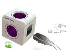 Der PowerCube ist ideal für Reisen, wenn es wenig Steckdosen gibt. Der stylische Mehrfachstecker-Würfel ist ein geniales Geschenk für Reisende von heute!