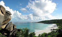 Playa de Grand Anse en La Digue. ◆Seychelles - Wikipedia https://es.wikipedia.org/wiki/Seychelles #Seychelles