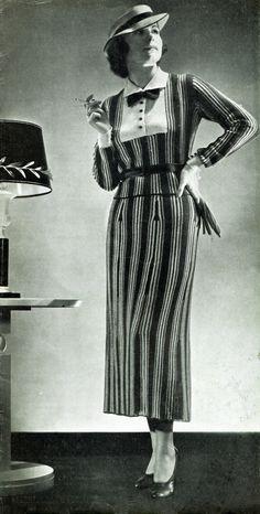Fifties Fashion, 1930s Fashion, Retro Fashion, Vintage Fashion, Women's Fashion, Classic Fashion, Vintage Vogue, Fashion History, Victorian Fashion