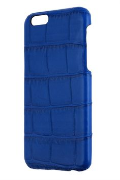 iPhone 6S /6  Case Alligator Blue