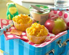 Mac and Cheese Lunchbox Muffins Recipe