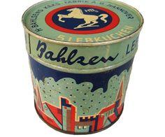 Vintage Lebkuchen Tins 16 Vintage German Lebkuchen Tins