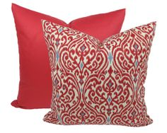 2 Decorator Pillow Covers with Designer Fabric by TrellisHomeDecor, $36.00