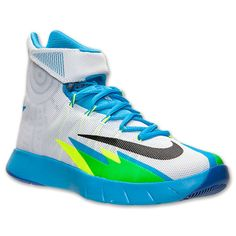 the best attitude ff774 76a4e Nike Zoom HyperRev White Black Vivid Blue Game Royal Blue Game, Court Shoes,  Nike