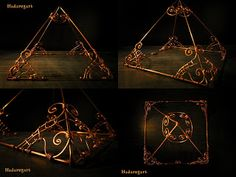 Piramida din cupru realizata manual. Pret 165 lei doar la comanda  . Pentru comenzi telefon: 0759165234 sau email: hadaruga.mihai@yahoo.com Email, Lei, Home Decor, Decoration Home, Room Decor, Interior Decorating