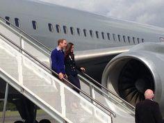Prince William and Kate Middleton visitan fMilias de militares en Auckland, Australia