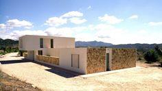 Vivienda en Jijona (Alicante) realizada por dooa arquitecturas.
