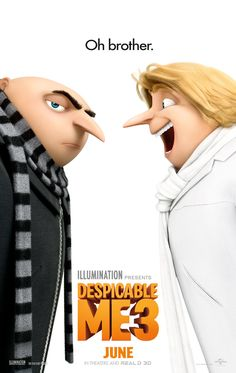 nice Meet Gru's twin brother Dru in new Despicable Me 3 trailer