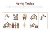 CHristmas Nativity printables  #homeschool #preschool #printables #kindergarten