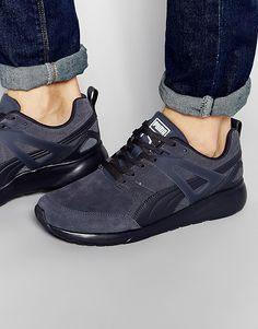 ca3cca0f3417 Image 1 of Puma Aril Suede Sneakers Suede Trainers, Suede Sneakers, Asos  Promo,