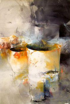 water-colour painter Lars Eje Larsson