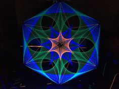 3d uv string art