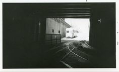 Capital Transit PCC enters Bureau of Engraving Tunnel (1950s).