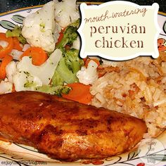 Mouth-Watering Peruvian Chicken