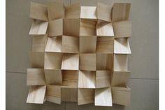 Painel acústico de madeira à prova de fogo do difusor dos painéis de parede com teste padrão novo de BT