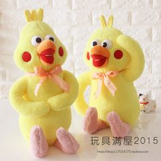 2017 new arrive Japanese video popular poinko plush toys Parrot brother doll Animals filled with toys 50cm