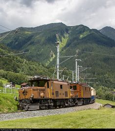RailPictures.Net Photo: 415, 353 RhB - Rhätische Bahn Ge 6/6 I, Ge 4/6 at Klosters, Switzerland by Georg Trüb