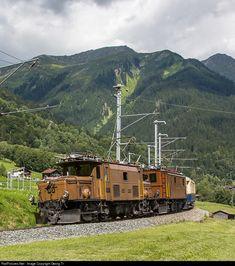 RailPictures.Net Photo: 415, 353 RhB - Rhätische Bahn Ge 6/6 I, Ge 4/6 at Klosters, Switzerland by Georg Trüb