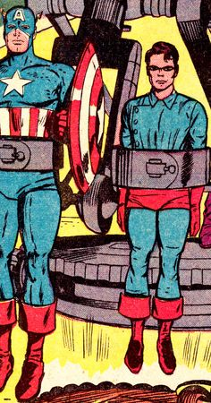 Cap & Bucky - TALES OF SUSPENSE #69 (Sept. 1965) - Art by Jack Kirby & Dick Ayers; Words by Stan Lee