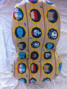 Pirate Toddler Carseat Cover on Etsy, $40.00