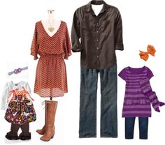 SO cute.  I would never wear a dress or cowboy boots, but a good idea for the hubs and my baby girl :)