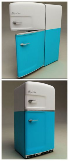 The Great American Fridge is back! Our beach cruiser fridges were inspired by many retro objects. Big Chill make Retro fridges unlike no other.