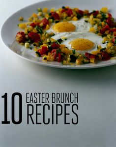 Epic Easter Brunch Recipes #Easter #Brunch