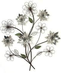 Image Result Metal Flower Wall Art Floral Metal Wall Art Metal Flower Wall Decor