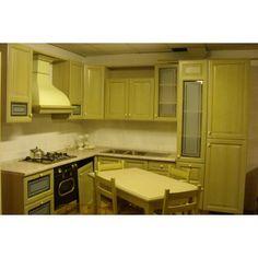 Cucina Classica LUBE Silvia Verde Decapé  60% DI SCONTO SU PREZZO DI LISTINO Prezzo originale: €9.125 PREZZO MOBISTOCK €3.650  http://www.mobistock.it/cucina-classica-lube-silvia-verde.html#sthash.tG5opCxf.dpuf